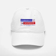 olbermann maddow 2012 Baseball Baseball Cap