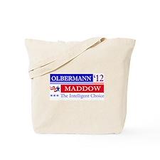 olbermann maddow 2012 Tote Bag