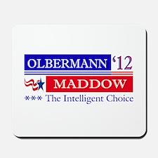 olbermann maddow 2012 Mousepad