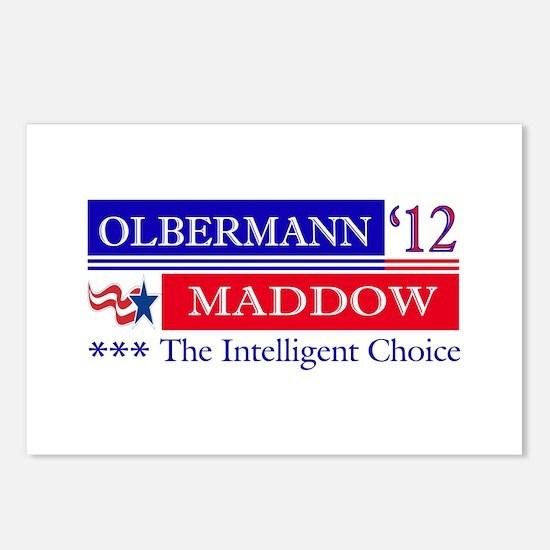 olbermann maddow 2012 Postcards (Package of 8)