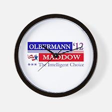 olbermann maddow 2012 Wall Clock