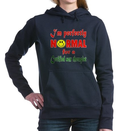 I'm perfectly normal for Women's Hooded Sweatshirt