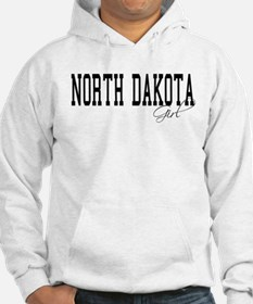 North Dakota Girl Hoodie