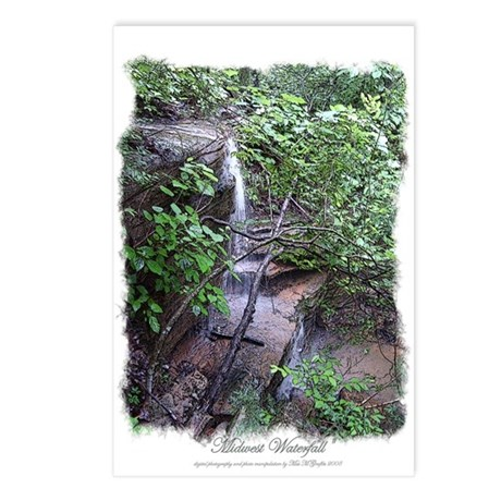 """River Cave Sketch"" Postcards (Package of 8)"