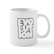 evolution box Mug