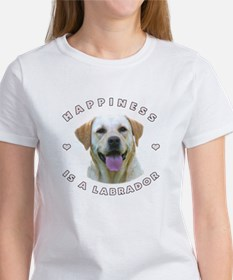 Happiness is a Labrador! Women's T-Shirt