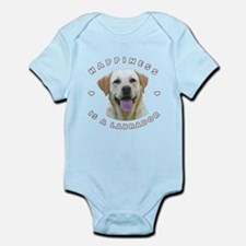 Happiness is a Labrador! Infant Bodysuit