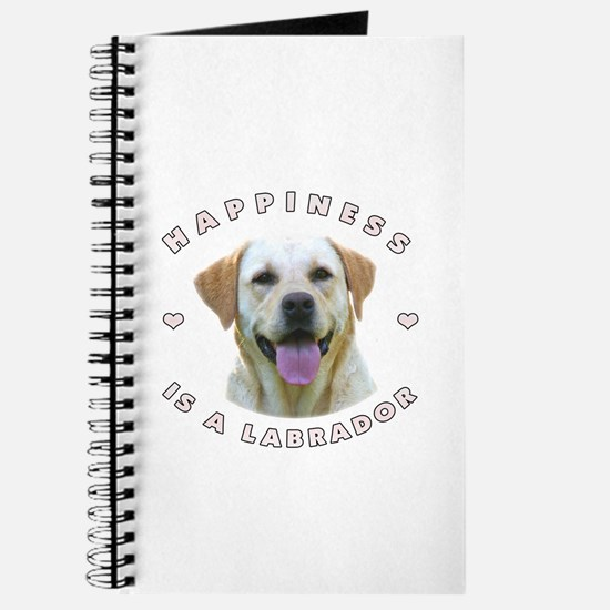 Happiness is a Labrador! Journal