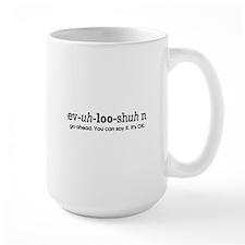 evolution sound it out Mug