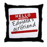 Twilight - Edward's Girlfriend Throw Pillow