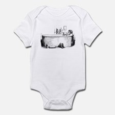 In the bath Infant Bodysuit