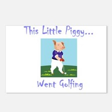 This Little Piggy... Postcards (Package of 8)
