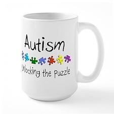 Autism (Unlocking The Puzzle) Mug