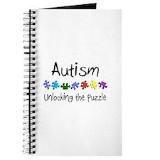 Autism (Unlocking The Puzzle) Journal
