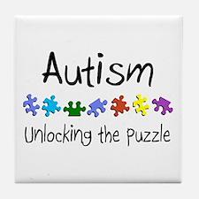 Autism (Unlocking The Puzzle) Tile Coaster