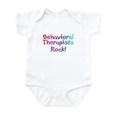 Behavioral Therapists Rock! Infant Bodysuit
