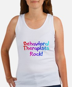 Behavioral Therapists Rock! Women's Tank Top