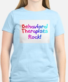 Behavioral Therapists Rock! T-Shirt