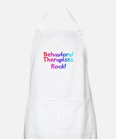Behavioral Therapists Rock! BBQ Apron