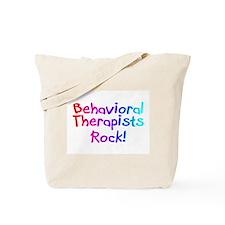 Behavioral Therapists Rock! Tote Bag