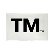 This Trademark is Tradmarked! Rectangle Magnet (10