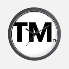 This Trademark is Tradmarked! Wall Clock