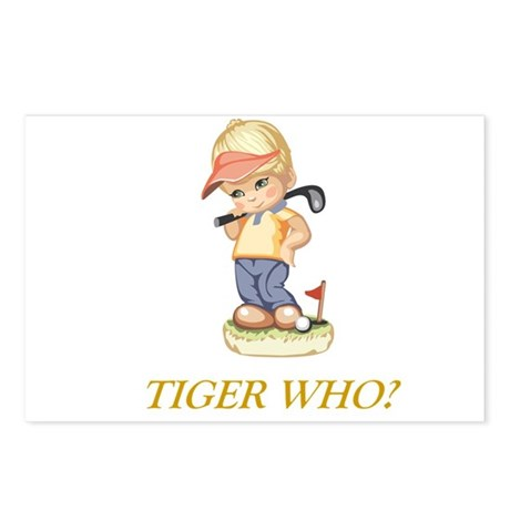 Tiger Who? Postcards (Package of 8)