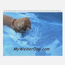 MyWeinerDog.com Calendar