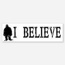 I Believe Bumper Bumper Bumper Sticker