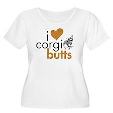 I Heart Corgi Butts - Blue Merle T-Shirt