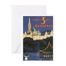 Budapest Hungary Greeting Card