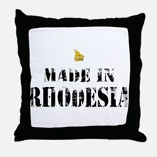 Made in Rhodesia Throw Pillow