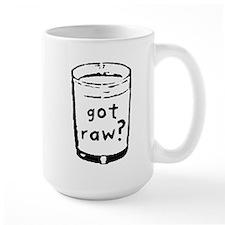 got raw? Mug