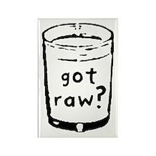got raw? Rectangle Magnet