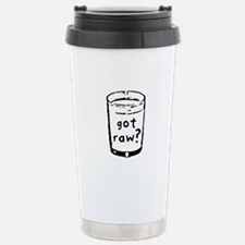 got raw? Travel Mug