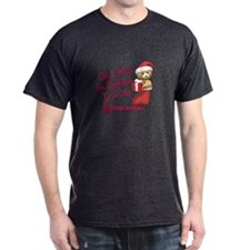Bear In Stocking 1 (AIDS HIV) T-Shirt