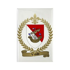 VALADE Family Crest Rectangle Magnet