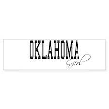 Oklahoma Girl Bumper Bumper Sticker