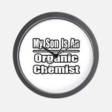 """My Son..Organic Chemist"" Wall Clock"