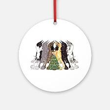 Xmas C6L Ornament (Round)