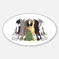 Xmas C6L Oval Decal