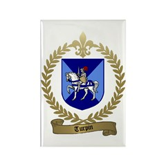 TURPIN Family Crest Rectangle Magnet (10 pack)