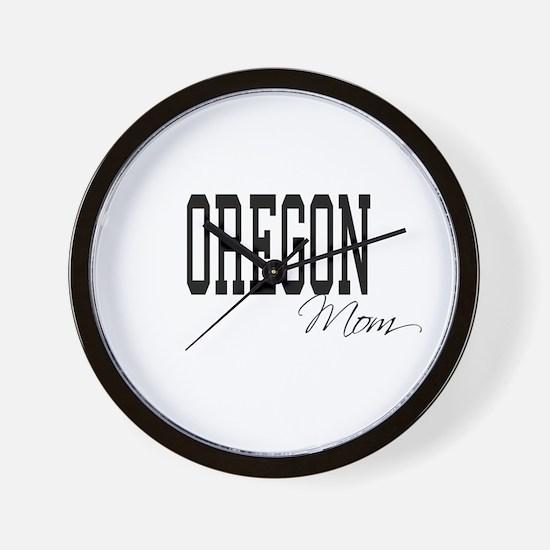 Oregon Mom Wall Clock