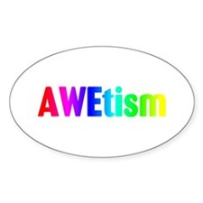 AWEtism Oval Decal