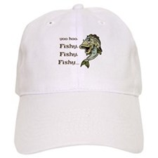 Here Fishy Fishy Fishy Baseball Cap