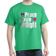 PEACE.LOVE.TWILIGHT T-Shirt