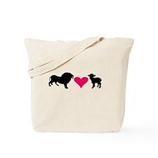 Lion Loves Lamb Tote Bag