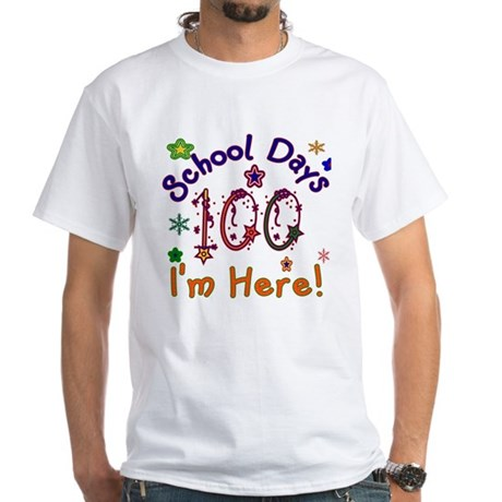100 School Days White T-Shirt