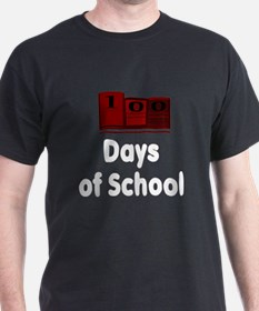 100 Days of School (Dark Shir T-Shirt