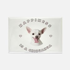 Happiness is a Chihuahua! Rectangle Magnet